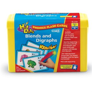 Hot Dots® Phonics Flash Cards Blends And Digraphs