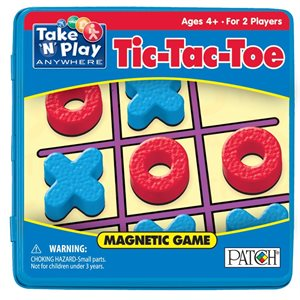 Take 'N Play  Anywhere Tic Tac Toe Magnetic Game