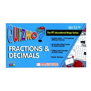 Fractions & Decimals QUIZMO®