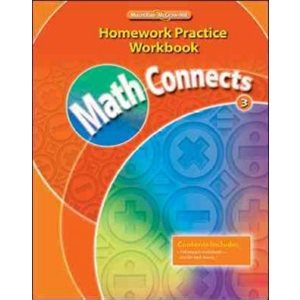 Math Connects: Homework Practice (Grade 3)