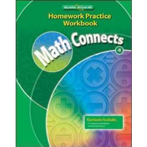 Math Connects: Homework Practice (Grade 4)