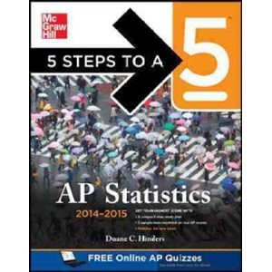 5 Steps to a 5 AP Statistics, 2014-2015
