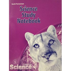 Science Study Notebook (California Science Grade 5)