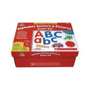 Literacy Manipulatives: Alphabet Letters & Pictures (Super Set)