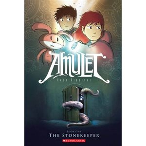 The Stonekeeper (Amulet #1) The Stonekeeper