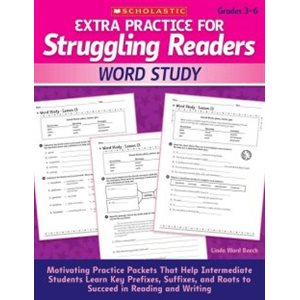 Extra Practice for Struggling Readers: Word Study