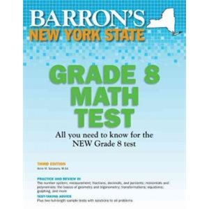 Barron's New York State Grade 8 Math Test