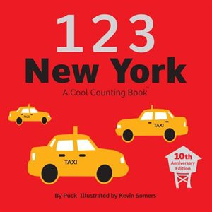 123 New York A Cool Counting Book