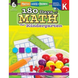 180 Days of Math for Kindergarten