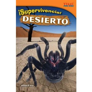 ¡Supervivencia! Desierto (Survival! Desert) (Spanish Version)
