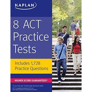 8 Act Practice Tests Includes 1,728 Practice Questions