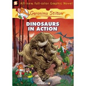 Geronimo Stilton Graphic Novels 7 Dinosaurs In Action