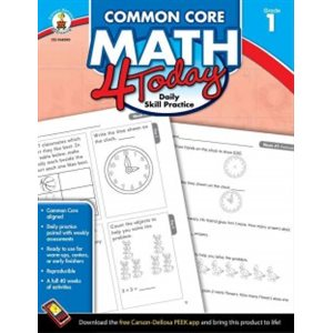 Common Core Math 4 Today, Grade 1 Daily Skill Practice