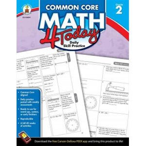 Common Core Math 4 Today, Grade 2 Daily Practice Skills