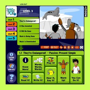 BrainPOP ESL (12-month classroom subscription)