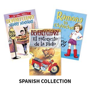Beverly Cleary Author Study (5 Books) Spanish