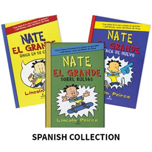 Nate el grande (Big Nate) (4 Books)