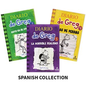 Diario de Greg (Diary of a Wimpy Kid) (11 Books)