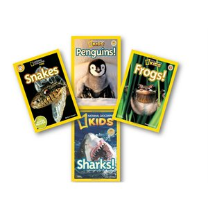 Series Sampler - National Geographic Readers (4 Bk Set)