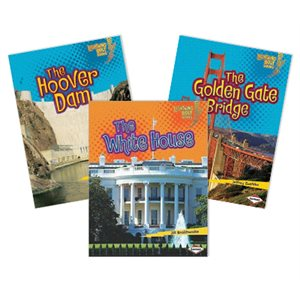 Series Sampler - Lightning Bolt Books Famous Places (5 Books)