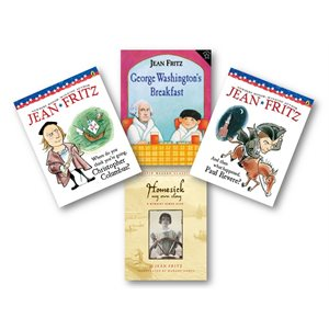 Favorite Author Study - Jean Fritz (4 Bk Set)