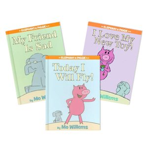 Series Sampler - Elephant and Piggie (5 Bk Set)