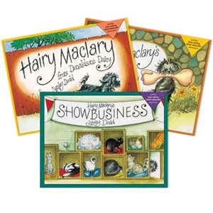 Series Sampler - Hairy Maclary (3 Bk Set)