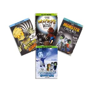 Mighty Mighty Monsters (4 Bk Set)