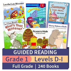Guided Reading Collection: Grade 1 Full Grade (240 books)