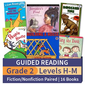 Guided Reading Collection: Grade 2 Fiction / Nonfiction Paired Studies (16 books)