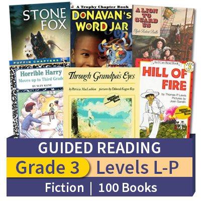 Guided Reading Collection Grade 3 Fiction 100 Books