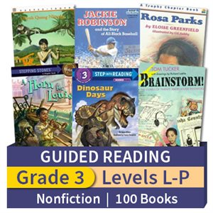 Guided Reading Collection: Grade 3 Nonfiction (100 books)