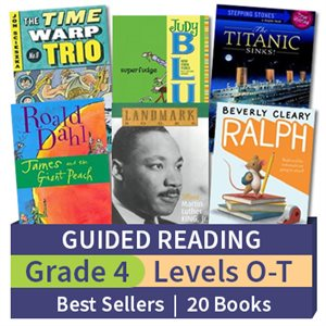 Guided Reading Collection: Grade 4 Best Sellers (20 books)