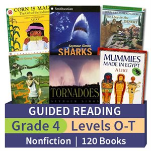 Guided Reading Collection: Grade 4 Nonfiction (120 books)