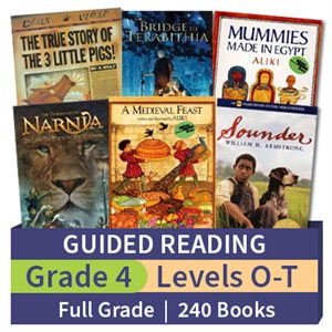 Guided Reading Collection: Grade 4 Full Grade (240 books)