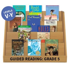 Guided Reading Collection: Grade 5 Fiction (100 books)
