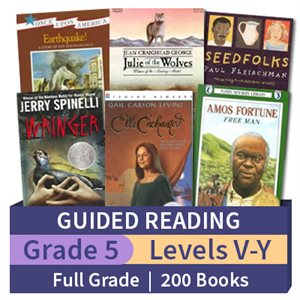 Guided Reading Collection: Grade 5 Full Grade (200 books)