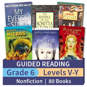 Grade 6 NonFiction Set (80 Books)