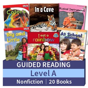 Guided Reading Collection: Level A Nonfiction (20 books)