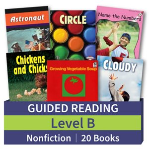 Guided Reading Collection: Level B Nonfiction (20 books)