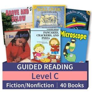 Guided Reading Collection: Level C Fiction and Nonfiction Combo (40 books)