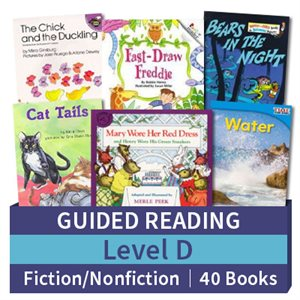 Guided Reading Collection: Level D Fiction and Nonfiction Combo (40 books)
