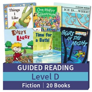 Guided Reading Collection: Level D Fiction (20 books)