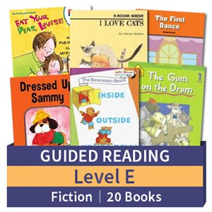 Guided Reading Collection: Level E Fiction (20 books)
