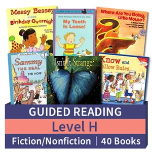 Guided Reading Collection: Level H Fiction and Nonfiction Combo (40 books)