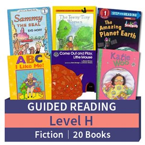Guided Reading Collection: Level H Fiction (20 books)