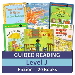 Guided Reading Collection: Level J Fiction (20 books)