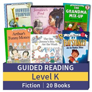 Guided Reading Collection: Level K Fiction (20 books)
