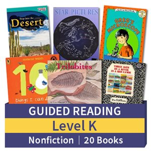 Guided Reading Collection: Level K Nonfiction (20 books)