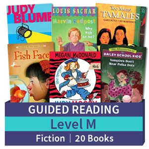 Guided Reading Collection: Level M Fiction (20 books)